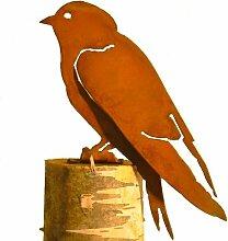 Fairy with Bird Silhouette