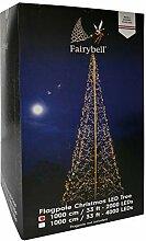 Fairybell Weihnachtsdeko - Gartendeko Lichterbaum