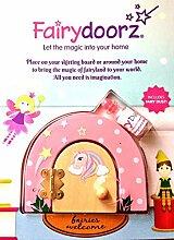 fairydoorz Einhorn Fairy Tür Wand Décor, Pink