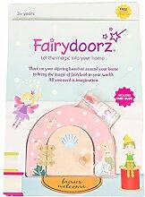 fairydoorz Mermaid Fairy Tür Wand Décor, Pink