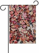 FAJRO Ahornblätter, Garten-Flagge für Garten,