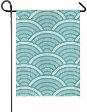 FAJRO Dekorative Design Flagge Hofdekor Garten