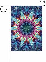 FAJRO Fancy Mandala Muster Flagge Hofdekoration