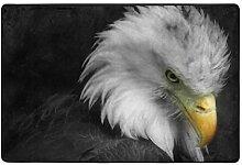 FAJRO Fußmatte/Fußabtreter, Motiv Bald Eagle,