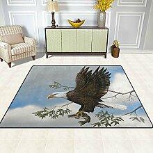 FAJRO Fußmatte mit Adler-Motiv für