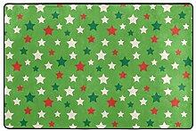 FAJRO Fußmatte mit Sternenmotiv, Polyester, für