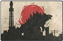 FAJRO Godzilla Disaster Polyester-Eingangsmatten