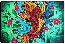 FAJRO Koi Fisch, Lotusblüte, Schlamm Schuh