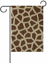 FAJRO Kreative Giraffe Muster Flagge Hofdeko