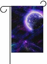 FAJRO Milky Way Universe Flagge Hofdekoration