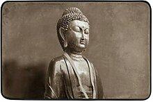 FAJRO Occult Fußmatte, Buddha, Buddhismus,