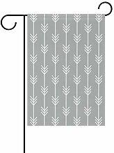 FAJRO Pfeil-Muster, Garten-Flagge für Garten,