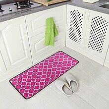 FAJRO rutschfeste Teppich-Fußmatte für