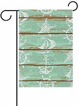 FAJRO Shabby Marine Boards Muster Flagge