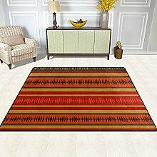 FAJRO Teppich, amerikanisches Muster, für