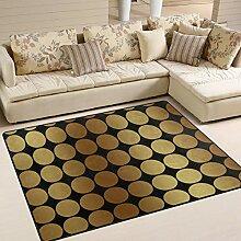 FAJRO Teppich für Eingangsbereich, Fußmatte mit