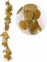 Fake efeu künstliche hängepflanzen eukalyptus