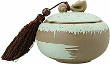 FakeFace Keramik Teedosen Kaffeedosen Vorratsdose