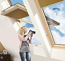 FAKRO Dachfenster Mit Höher Versetzter