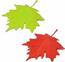 Faliang Maple LeafStilKunststoff StartseitedekorativeTürStopperTürstopper -2