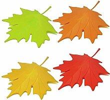 Faliang Maple LeafStilKunststoff StartseitedekorativeTürStopperTürstopper -4