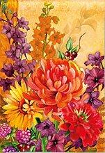 Fall Floral Garden Flagge Herbst Banner