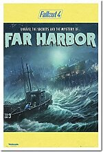 Fallout 4 Die Mystery of Far Harbor Poster Kork