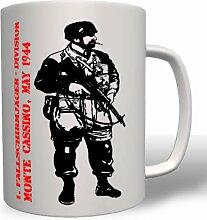 Fallschirmjäger Monte Cassino 1944 - Tasse Becher Kaffee #149