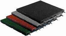 Fallschutzmatte 500x500x45mm (Gummigranulat)