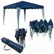 Falt-Pavillon Easy-Up 3x3m blau-weiss