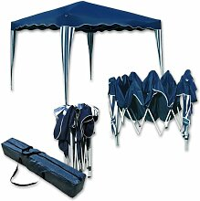 Falt-Pavillon Easy-Up 3x4m blau-weiss