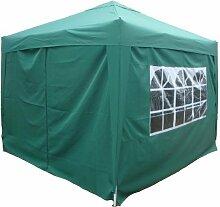 Falt Pavillon Partyzelt 3x3m Farbe: Grün