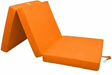 Faltbare Gästematratze ClearAmbient Farbe: Orange