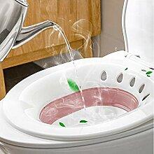 Faltbare Sitzbadewanne für WC, Sitz, Badewanne,