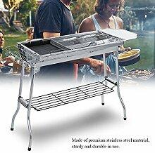 Faltbarer Barbecue-Grill, Edelstahl, der tragbaren