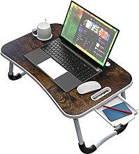 Faltbarer Betttisch für Laptop und Schreiben,