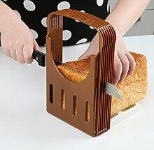 Faltbarer Brotschneider, Toastbrot,