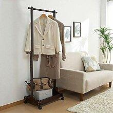 Faltbarer Kleiderbügel aus Holz,Kleiderständer