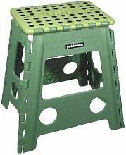 Faltbarer Tritt Hocker JAMES XL - grün