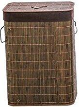 Faltbarer Wäschekorb Mit Deckel Und Großem