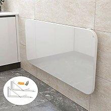 Faltbarer Wandtisch Weiß,Holz Klapp Küche
