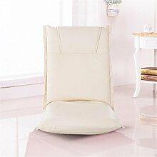 Faltbares Sofa Einzelnes faules Sofa Tatami Einfacher Sessel Stuhl Abnehmbarer und waschbarer Bodenbelag Balkon mit Sofa , 5