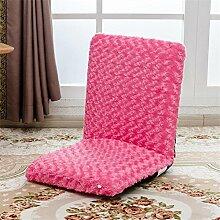 Faltbares Sofa Einzelnes faules Sofa Tatami Einfacher Sessel Stuhl Abnehmbarer und waschbarer Bodenbelag Balkon mit Sofa , 1