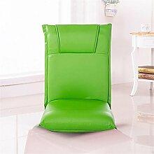 Faltbares Sofa Einzelnes faules Sofa Tatami Einfacher Sessel Stuhl Abnehmbarer und waschbarer Bodenbelag Balkon mit Sofa , 8