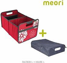 Faltbox Classic Large Hibiskus Rot / Blumen +