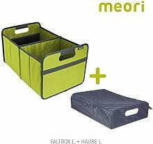 Faltbox Classic Large Kiwi Grün / Uni + Haube
