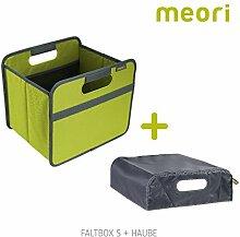 Faltbox Classic Small Kiwi Grün / Uni + Haube