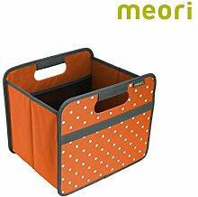 Faltbox Classic Small Mandarine Orange / Punkte