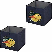 Faltbox Dino-2, Aufbewahrungsbox Ordnungsbox