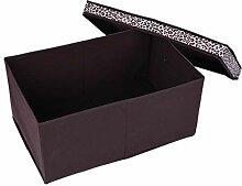 Faltbox mit Deckel, 60 L Faltbare